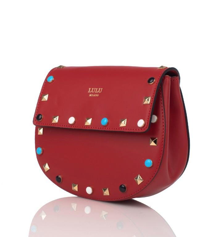 0ced34ddd0 Milano Colorate Angy Tracolla Lulu A Con Borsa Borchie Rossa qa8wY ...