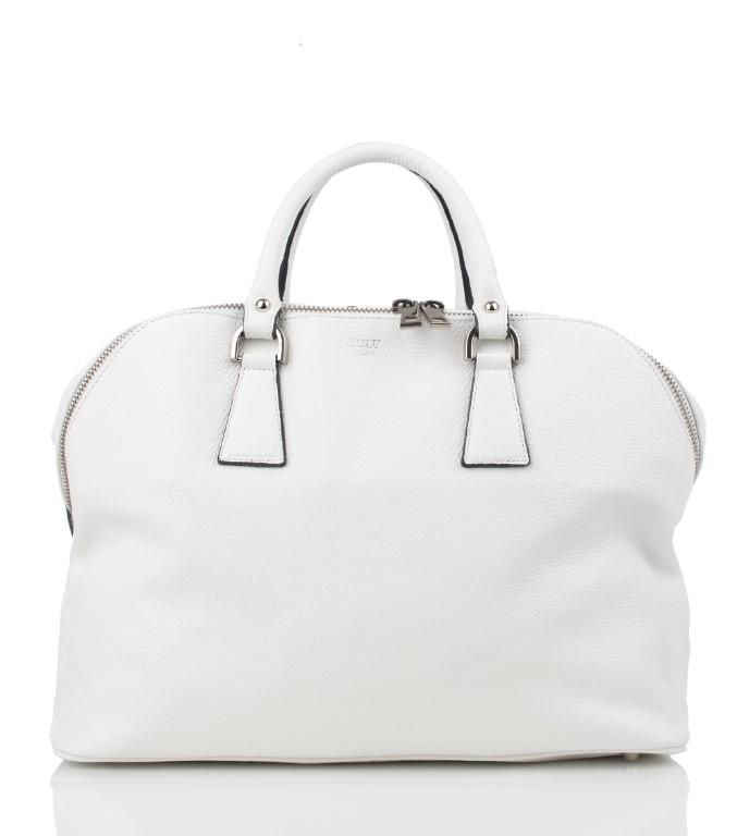 d5836ded6c ... CLEO borsa bianca con tracolla
